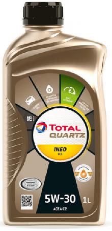 Motorový olej 5W-30 Total Quartz INEO ECS - 1 L - Oleje 5W-30