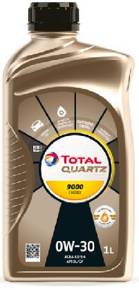 Motorový olej 0W-30 Total Quartz ENERGY 9000 - 1 L - Oleje 0W-30