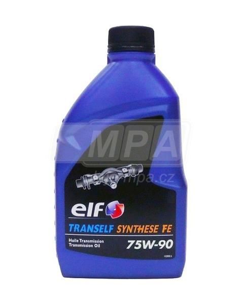 Převodový olej 75W-90 Elf Tranself Synthese FE - 0,5l - Oleje 75W-90