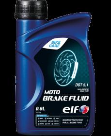 Brzdová kapalina ELF MOTO BRAKE FLUID 5.1 500 ML