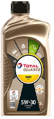 Motorový olej 5W-30 Total Quartz 9000 NFC - 1 L - Oleje 5W-30