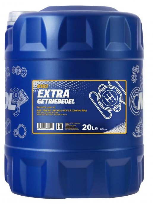 Převodový olej 75W-90 Mannol Extra Getriebeoel - 20 L - Oleje 75W-90