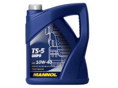 Motorový olej 10W-40 UHPD Mannol TS-5 - 5 L Motorové oleje - Motorové oleje pro nákladní automobily - 10W-40