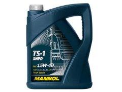 Motorový olej 15W-40 SHPD Mannol TS-1 - 5 L Motorové oleje - Motorové oleje pro nákladní automobily - 15W-40