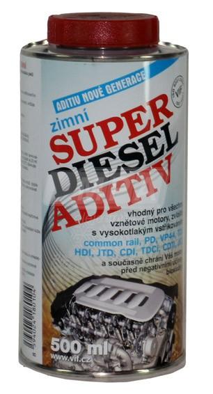 Zimní aditivum VIF Super diesel - 0,5 L - Brzdové kapaliny, aditiva