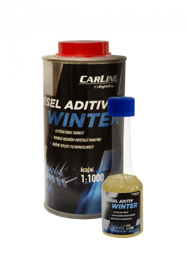 Zimní naftové aditivum Carline Diesel Aditiv - 5 L - Brzdové kapaliny, aditiva