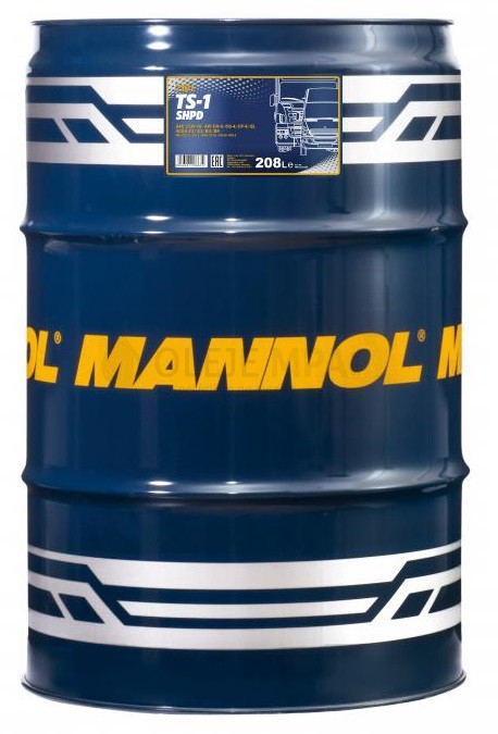 Motorový olej 15W-40 SHPD Mannol TS-1 - 208 L