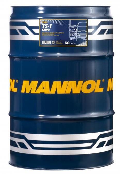 Motorový olej 15W-40 SHPD Mannol TS-1 - 60 L