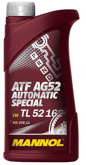 Převodový olej Mannol ATF AG 52 Automatic Special - 1 L - Oleje GM DEXRON III