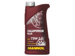 Převodový olej 75W-140 Mannol Maxpower 4x4 - 1 L Převodové oleje - Převodové oleje pro automatické převodovky - Oleje GM DEXRON III