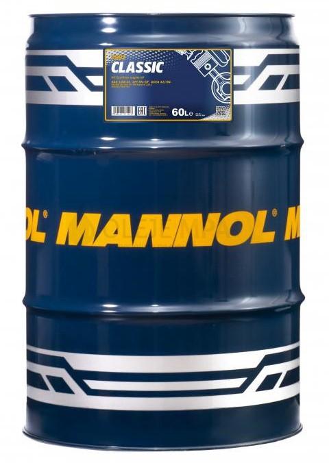 Motorový olej 10W-40 Mannol Classic - 60 L - Oleje 10W-40