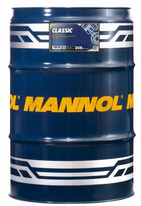 Motorový olej 10W-40 Mannol Classic - 208 L - Oleje 10W-40
