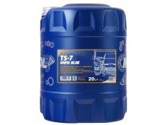 Motorový olej 10W-40 UHPD Mannol TS-7 Blue - 20 L Motorové oleje - Motorové oleje pro nákladní automobily - 10W-40