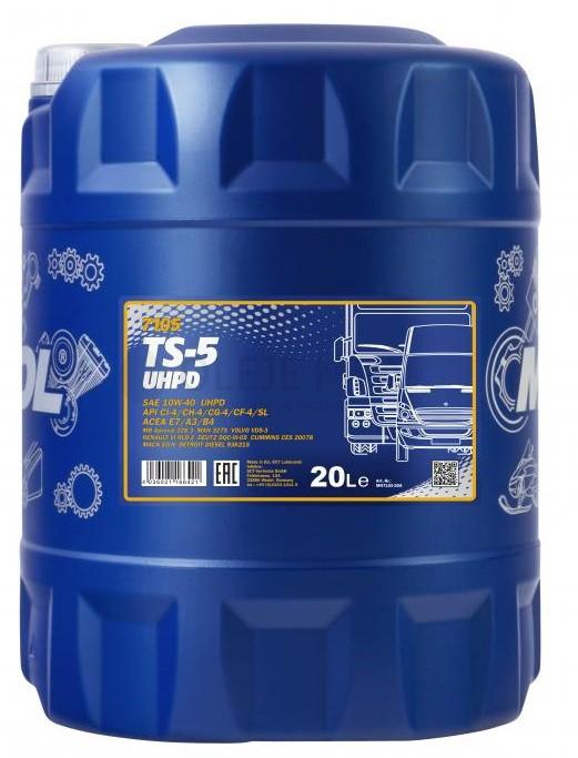 Motorový olej 10W-40 UHPD Mannol TS-5 - 20 L