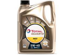 Motorový olej 5W-40 Total Quartz INEO C3 - 5 L Motorové oleje - Motorové oleje pro osobní automobily - Oleje 5W-40