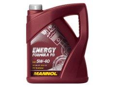 Motorový olej 5W-40 Mannol Energy Formula PD - 5 L Motorové oleje - Motorové oleje pro osobní automobily - Oleje 5W-40