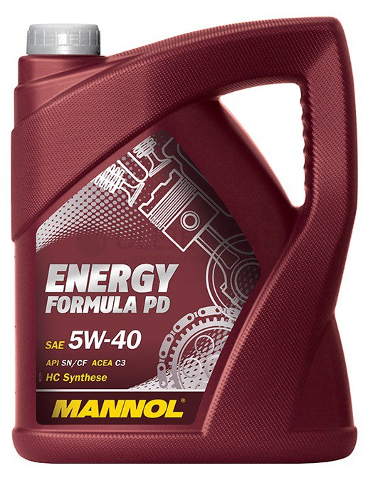 Motorový olej 5W-40 Mannol Energy Formula PD - 5 L - Oleje 5W-40