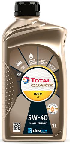 Motorový olej 5W-40 Total Quartz INEO C3 - 1 L - Oleje 5W-40