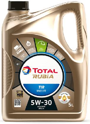 Motorový olej 5W-30 Total Rubia TIR 9900 FE - 5 L - 5W-30