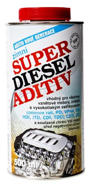 Zimní aditivum VIF Super diesel - 25 L - Brzdové kapaliny, aditiva