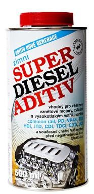 Zimní aditivum VIF Super diesel - 5 L - Brzdové kapaliny, aditiva