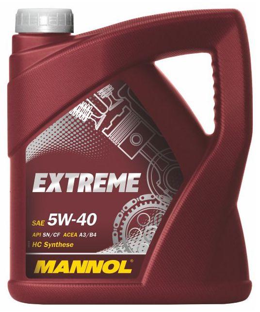 Motorový olej 5W-40 Mannol Extreme - 5 L - Oleje 5W-40