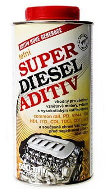 Letní aditivum VIF Super diesel aditiv - 500 ML - Brzdové kapaliny, aditiva