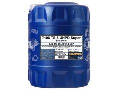 Motorový olej 5W-30 UHPD Mannol TS-8 Super - 20 L Motorové oleje - Motorové oleje pro nákladní automobily - 5W-30