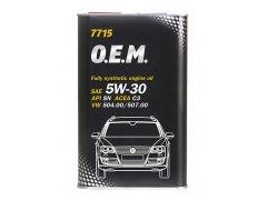 Motorový olej 5W-30 Mannol 7715 O.E.M. VW-AUDI-ŠKODA - 1 L Motorové oleje - Motorové oleje pro osobní automobily - Oleje 5W-30
