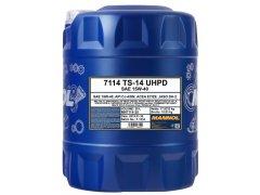 Motorový olej 15W-40 UHPD Mannol TS-14 - 20 L Motorové oleje - Motorové oleje pro nákladní automobily - 15W-40