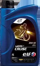 Motorový olej ELF moto 4 Cruise 20W-50 - 1 L - MPA Oleje