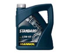 Motorový olej 15W-40 Mannol Standard - 5 L Motorové oleje - Motorové oleje pro osobní automobily - Oleje 15W-40