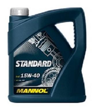 Motorový olej 15W-40 Mannol Standard - 5 L - Oleje 15W-40