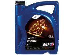 Motocyklový olej 10W-40 Elf Moto 4 ROAD - 4 L Motocyklové oleje - Motorové oleje pro 4-taktní motocykly