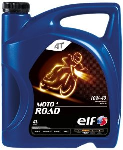 Motocyklový olej 10W-40 Elf Moto 4 ROAD - 4 L