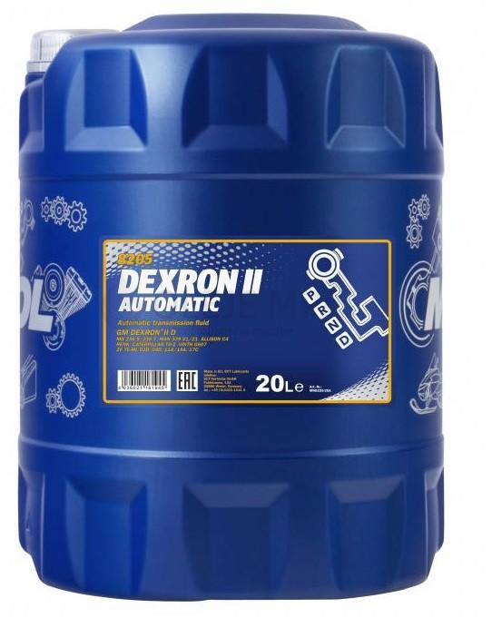 Převodový olej Mannol Dexron II Automatic ATF - 20 L - Olej GM DEXRON II