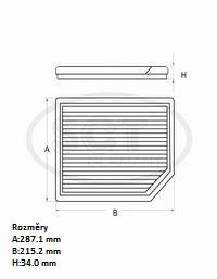 Filtr kabinový SCT SA 1166 - Filtry kabinové