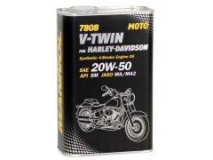 Motocyklový olej 20W-50 Mannol V-Twin for Harley-Davidson pro Harley-Davidson 7808 - 1 L Motocyklové oleje - Motorové oleje pro 4-taktní motocykly