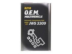 Převodový olej Mannol ATF Multivehicle JWS 8218 - 1 L Převodové oleje - Převodové oleje pro automatické převodovky - Olej GM DEXRON II