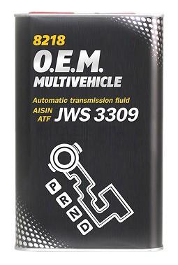 Převodový olej Mannol ATF Multivehicle JWS 8218 - 1 L - Olej GM DEXRON II