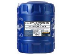 Převodový olej 75W-80 Mannol MTF-4 Getriebeoel - 20 L Převodové oleje - Převodové oleje pro manuální převodovky - Oleje 75W-80