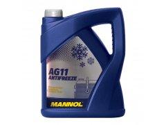 Chladící kapalina Mannol Antifreeze AG 11 -40°C - 5 L Provozní kapaliny - Chladící kapaliny - antifreeze