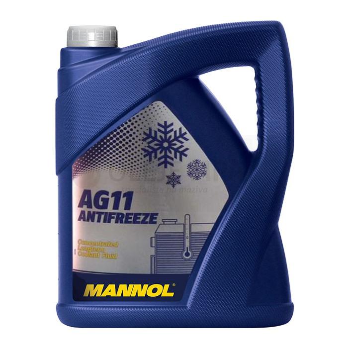 Chladící kapalina Mannol Antifreeze AG 11 -40°C - 5 L - Chladící kapaliny - antifreeze