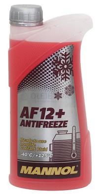 Chladící kapalina Mannol Antifreeze AF 12+ -40°C - 1 L