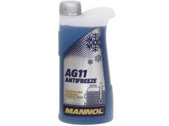 Chladící kapalina Mannol Antifreeze AG 11 -40°C - 1 L Provozní kapaliny - Chladící kapaliny - antifreeze