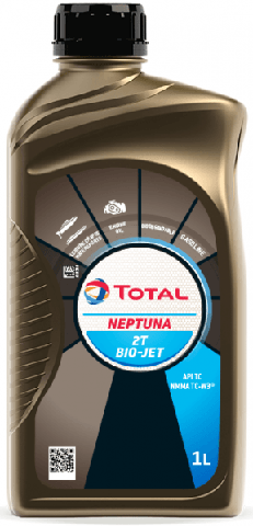 Motorový olej pro lodě Total Neptuna 2T BIO-JET - 1 L