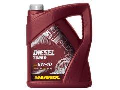 Motorový olej 5W-40 Mannol Diesel Turbo - 5 L