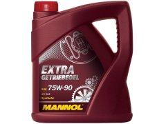 Převodový olej 75W-90 Mannol Extra Getribeoel - 4 L Převodové oleje - Převodové oleje pro manuální převodovky - Oleje 75W-90
