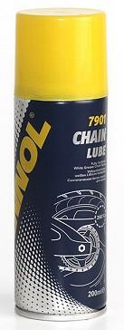 Sprej na řetězy Mannol Chain lube 7901 - 200 ML - Univerzální (automobilová) plastická maziva