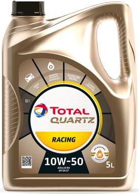 Motorový olej 10W-50 Total Quartz RACING - 5 L - Motorové oleje pro závodní automobily